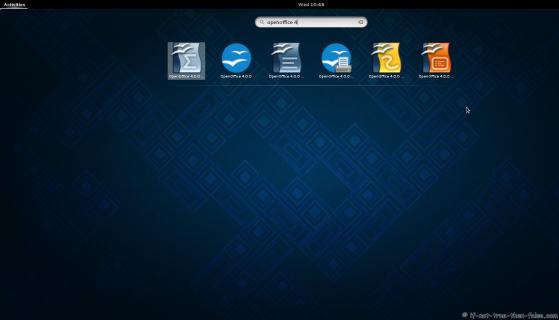 Apache OpenOffice 4 menus