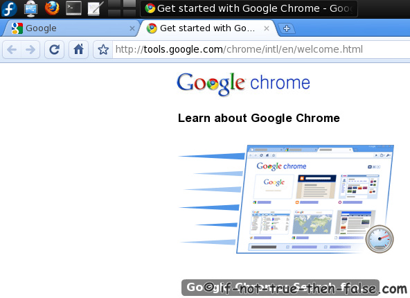 fedora 15 beta. Google Chrome Beta Web Browser