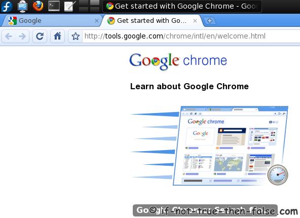fedora 15 beta. Google Chrome Beta Web Browser
