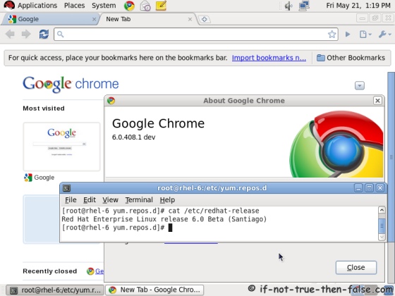 HOW TO INSTALL GOOGLE CHROME ON All Fedora Versions, CentOS