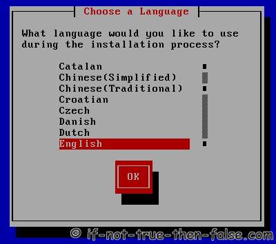 Choose a Language