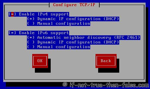 Configure TCP/IP settings