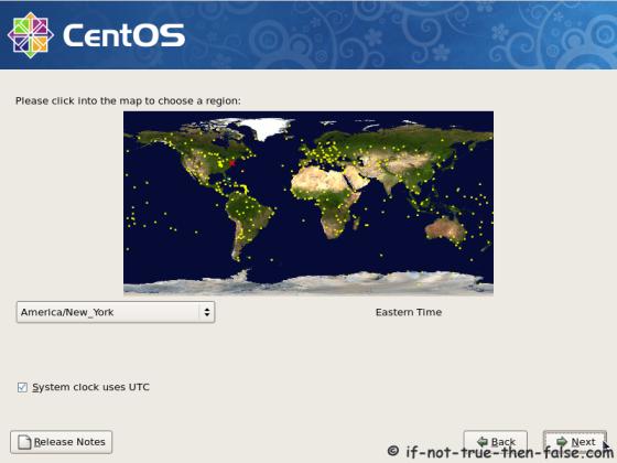 CentOS 5.11 Timezone setup