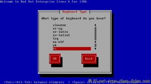 3. Choose a keyboard type