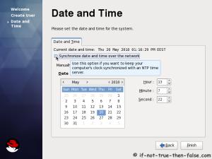 27. Setup date and time