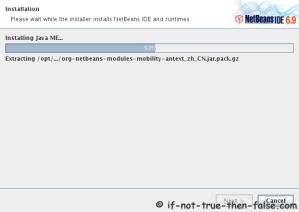 Installing NetBeans 6.9.1 IDE