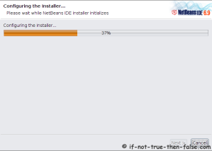 Netbeans 6.9.1 Installer Starts