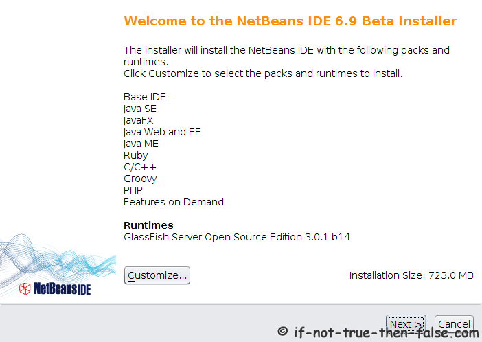 Install NetBeans IDE 6 9 1 on Fedora 14/13, CentOS 5 5, Red Hat