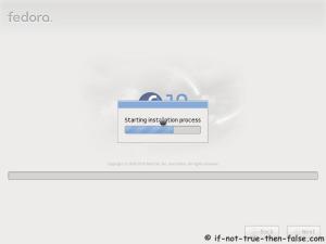 Fedora 13 Upgrade Starting
