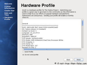 27. Send hardware profile