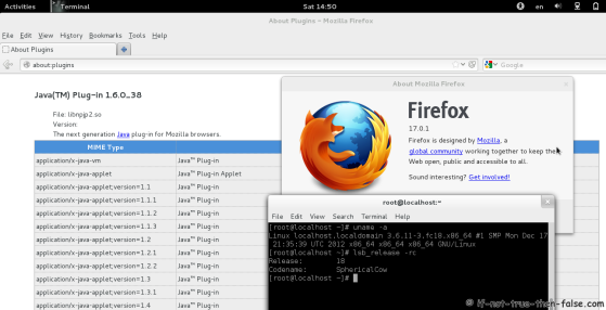 Java 6 Browser Plugin Running on Fedora 18 Firefox 17