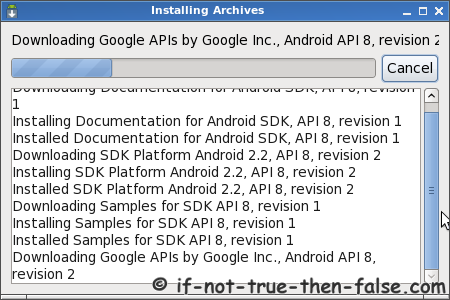 Installing Android SDKs