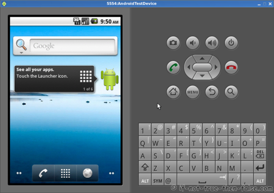 Started Android Test Device
