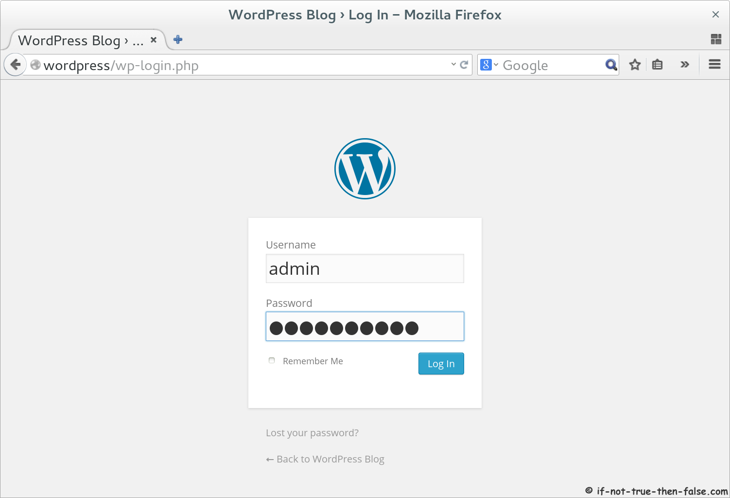 Install WordPress 4 1 1 on Fedora 21/20, CentOS/RHEL 7/6 6