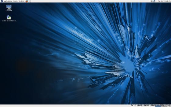 Fedora 14 (f14) Screenshot Plain Desktop