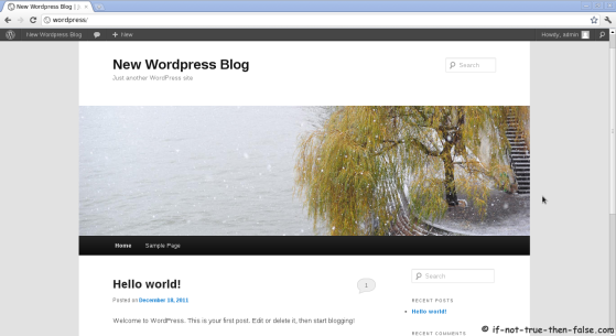 Wordpress 3.4.1 Twenty Eleven Template v1.4