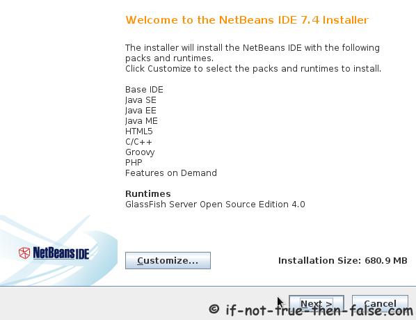 NetBeans 7 4 on Fedora 20/19, CentOS/RHEL 6 5/5 10 – If Not