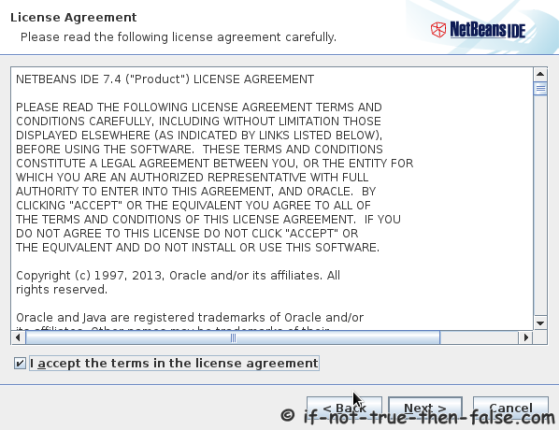 NetBeans IDE 7.4 License Agreement