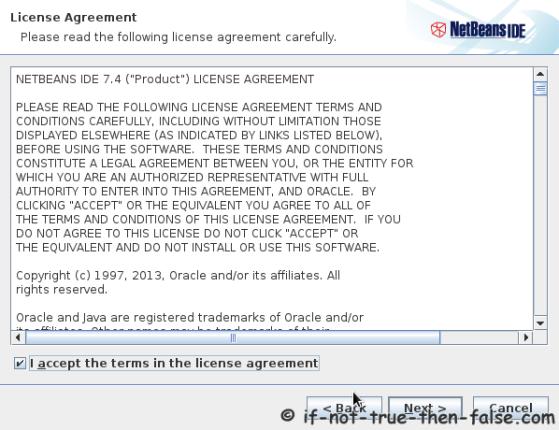 NetBeans IDE 7.4 License Agreement
