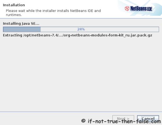 Netbeans IDE 7.4 Installing Netbeans