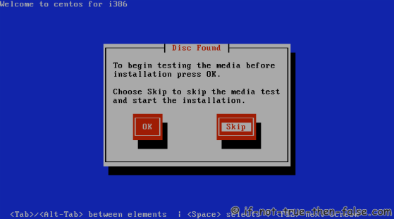 CentOS 6.8 Disc Test