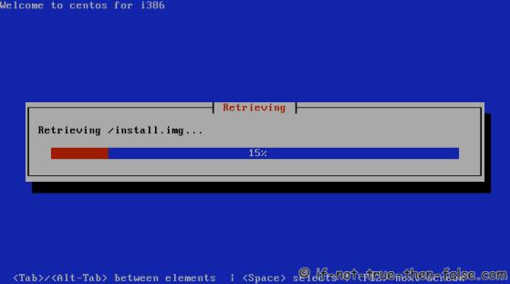CentOS 6.8 Retrieving Install Image