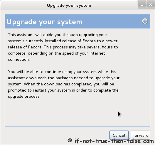 Preupgrade - Upgrade your system