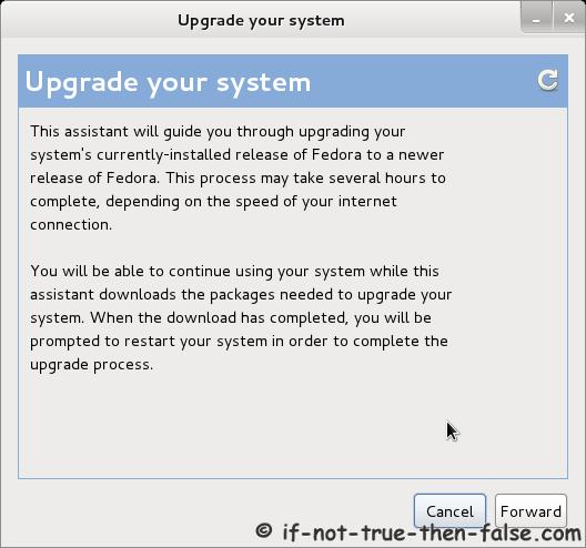 Preupgrade - Upgrade your system