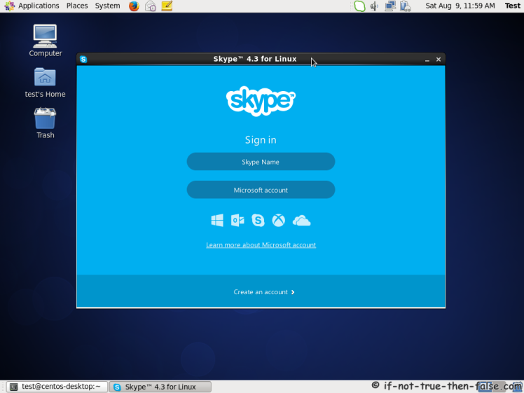 Skype 4.3 on CentOS 6.5
