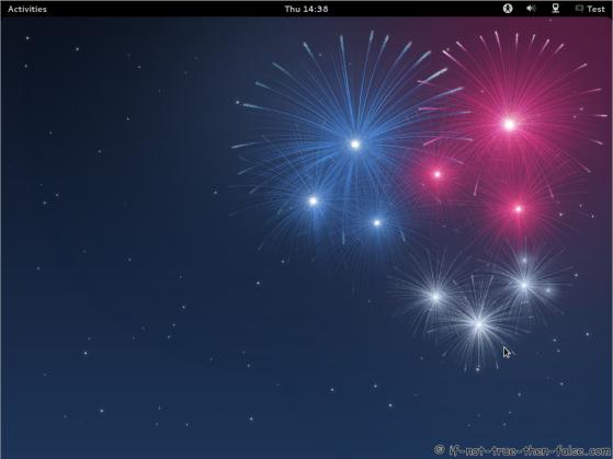 Fedora 17 Gnome Shell Plain