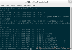 Solarized Gnome-Terminal Dark