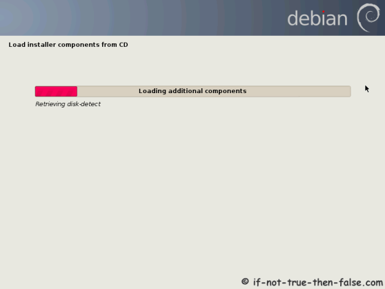 Debian Load Installer Components