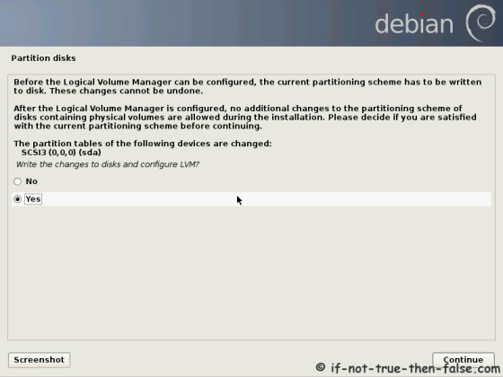 Debian Write Changes to Disk