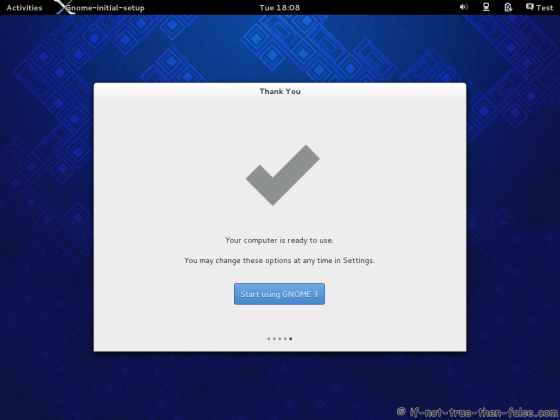 Fedora 19 Start Using Gnome 3