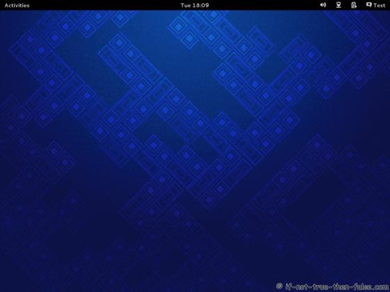 Fedora 19 Plain Desktop