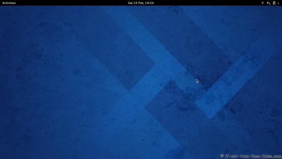Fedora 20 Plain Desktop