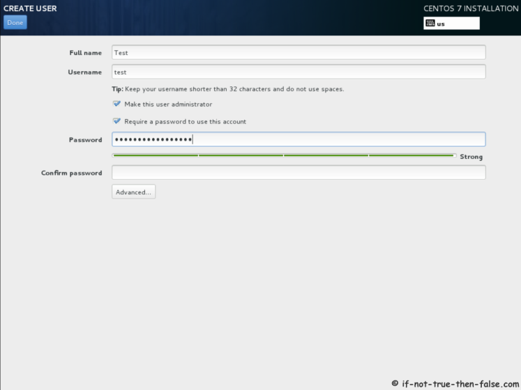 CentOS 7.5 Create User Account