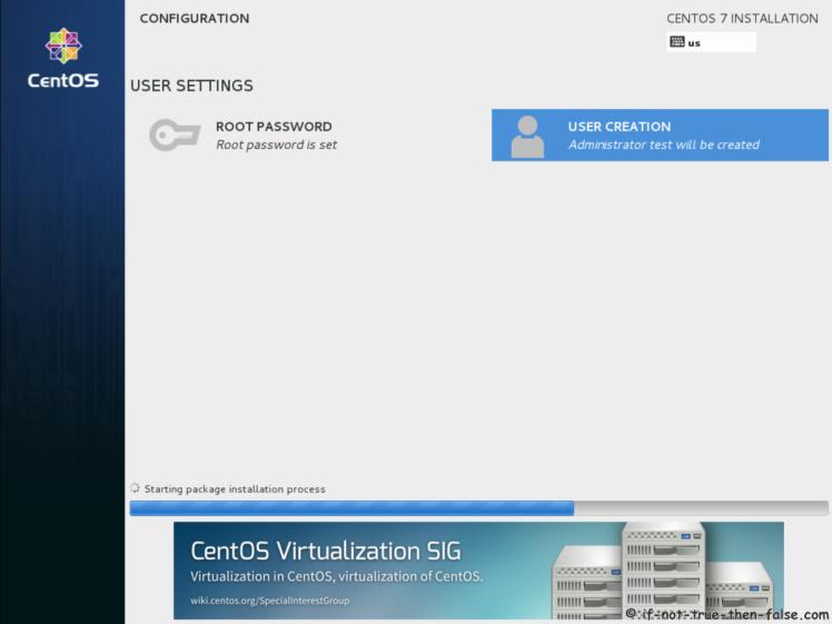 CentOS 7.7 Configuration Done