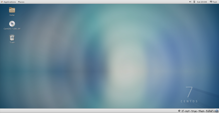 CentOS 7 Plain Desktop