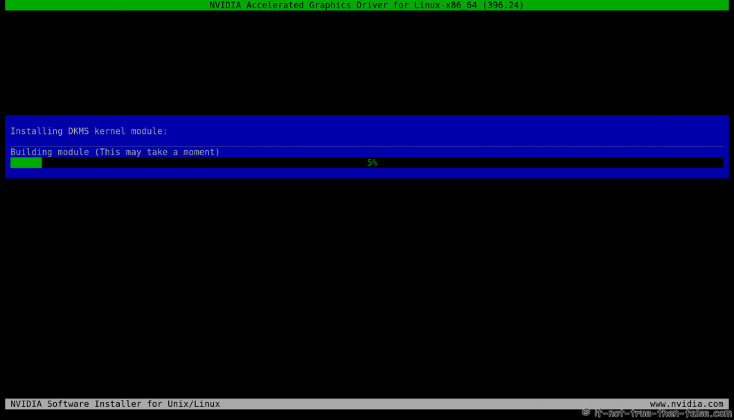 nVidia Installer Building Kernel Module