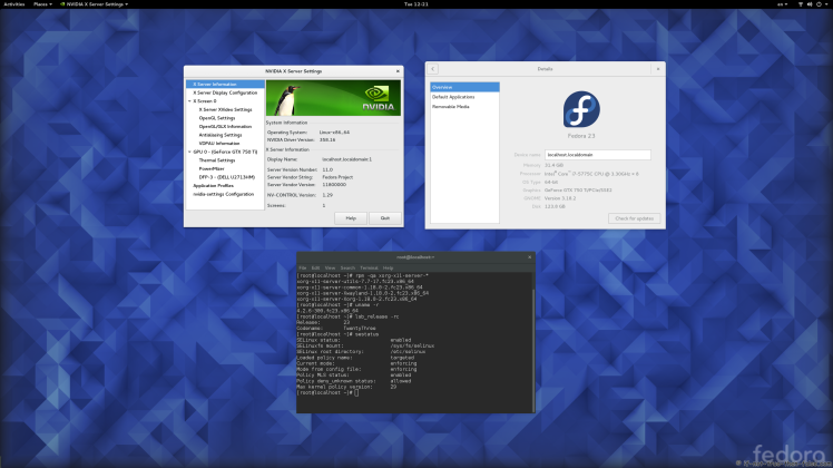 Fedora 30/29/28 nVidia Drivers Install Guide - Comment Page
