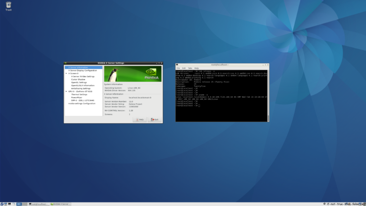 nVidia Drivers 304.135 on Fedora 25 kernel 4.9.10