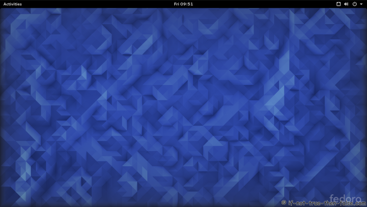 Fedora 23 Gnome Shell 3.18.1 Plain