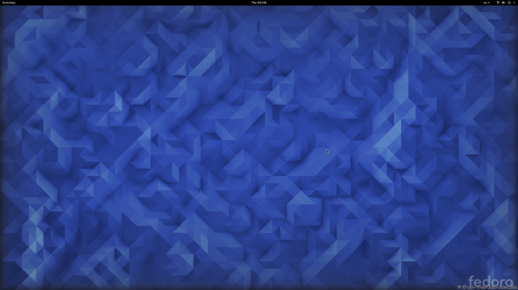 Fedora 23 Plain Gnome Shell 3.18.1