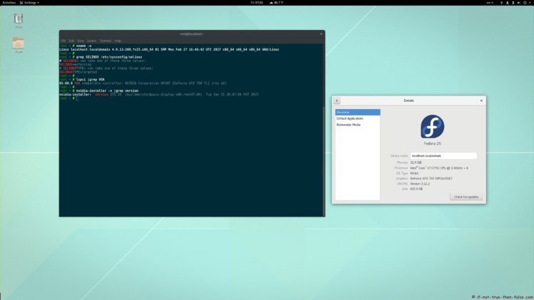 Fedora 30/29/28 nVidia Drivers Install Guide - Comment Page: 41 - If