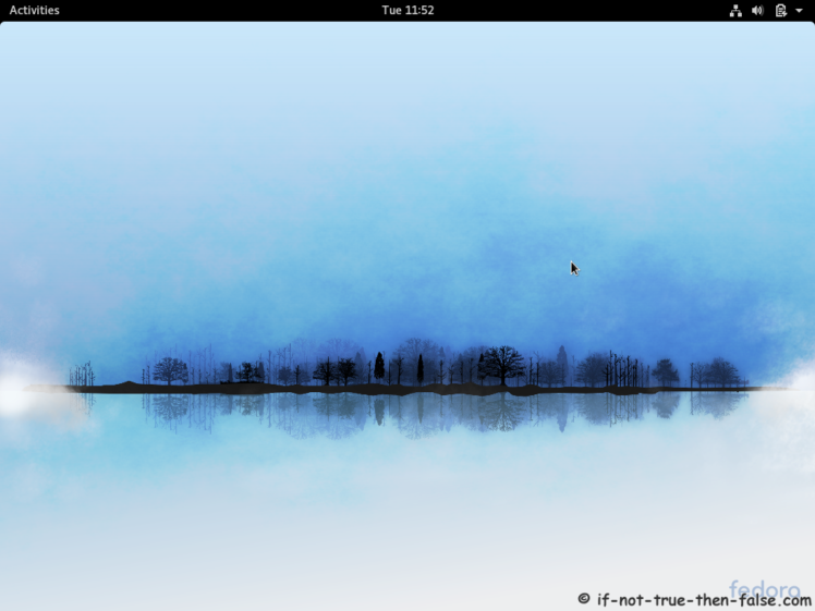 Fedora Upgrade 26 from 25 Gnome 3.24.2 Plain Desktop