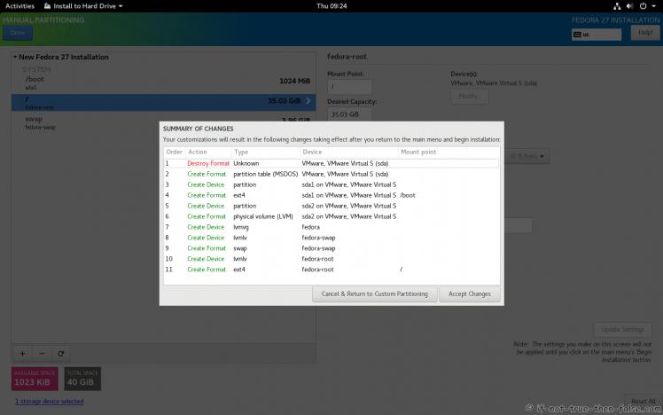 Fedora 27 Accept Changes