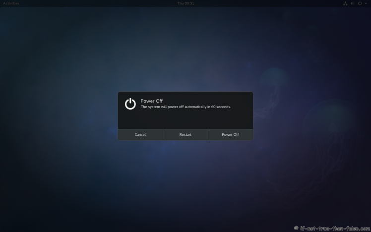 Fedora 27 Restart 2