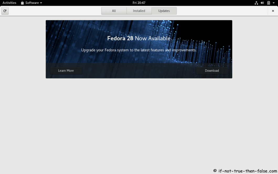 Fedora 27 to 28 Upgrade Fedora 28 available download