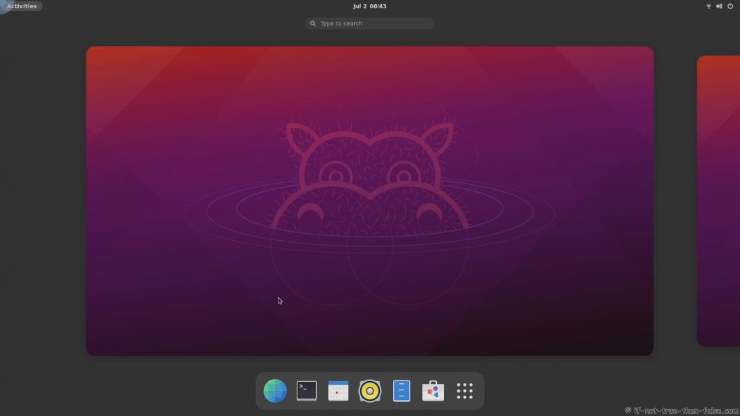 Ubuntu 21.04 running JHBuild GNOME 40.2